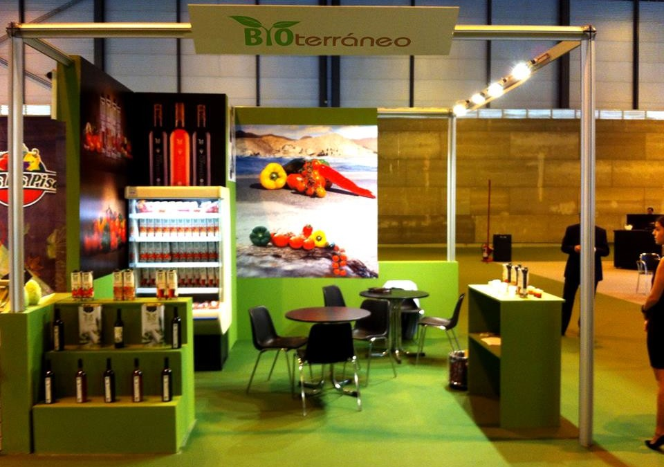 Bioterraneo in the fair Fruit Attraction in Madrid