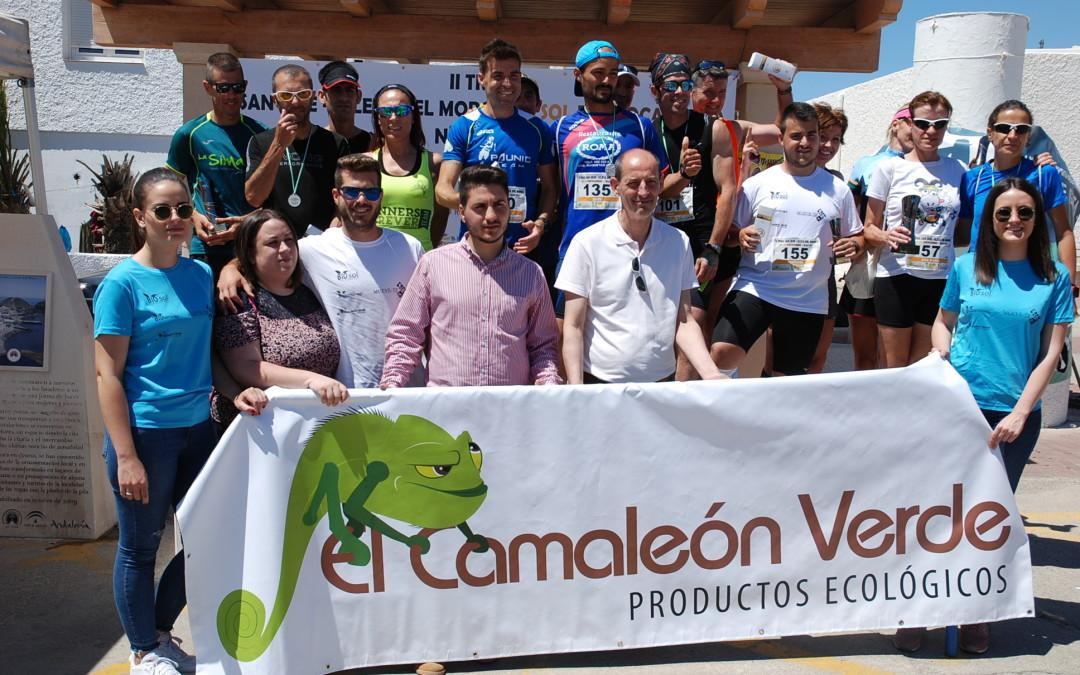 Bio Sol Portocarrero ha patrocinado la carrera 'Trail San José-La Isleta' en su segunda edición, que se ha celebrado esta mañana con más de 250 corredores