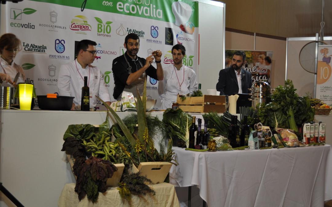 Bioterráneo, presente en el taller de cocina que el chef Enrique Sánchez lleva a cabo en BioCultura Sevilla