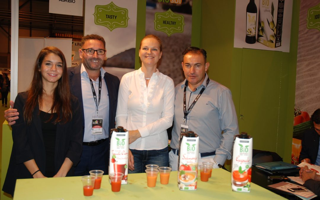 Bio Sol Portocarrero abandona Fruit Attraction 2017 con un buen sabor de boca