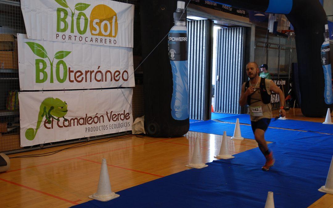 Gran éxito de la prueba 'Ultra Maratón Costa de Almería', patrocinada por Bioterráneo, que ha repartido salmorejo ecológico a sus 600 participantes