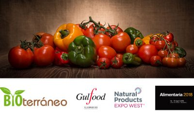 During next months Bioterraneo will participate in some of the most important food worldwide events.