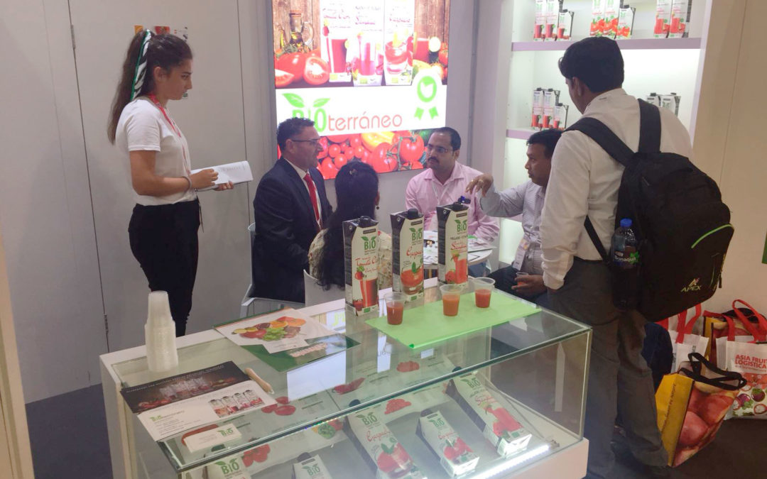 Bioterráneo presents its products in China