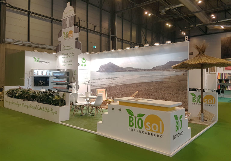 Bioterráneo y Biosol in Fruit Attraction 2018