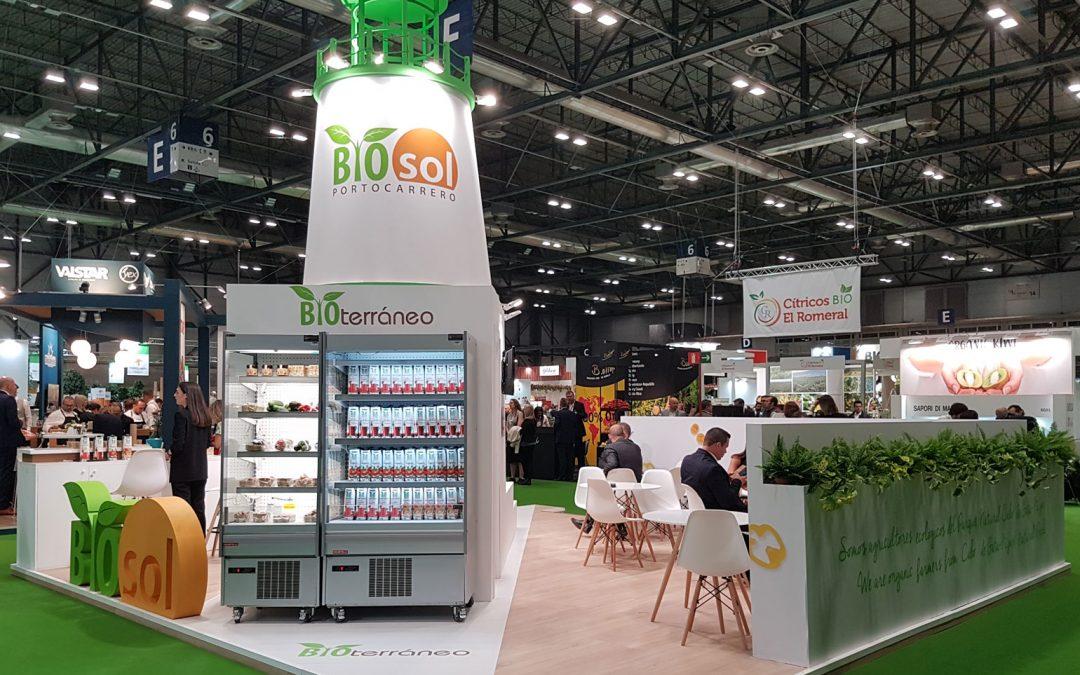 Bioterraneo presenta sus nuevos productos ecológicos de Bioterraneo en Fruit Atraction 2019