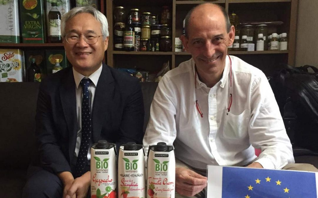 Gran acogida de los productos de Bioterráneo en Corea del Sur.