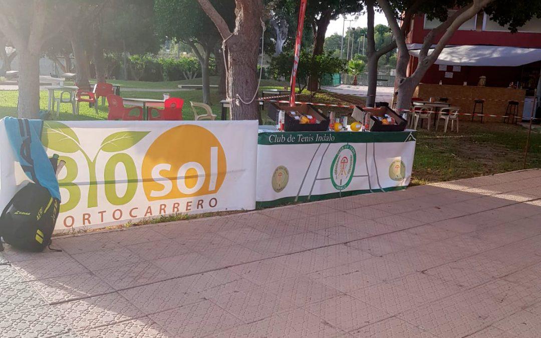 Bio Sol Portocarrero y Bioterráneo patrocinan torneo de tenis.